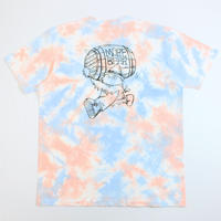 "MORE BEER × Lock「BEER BARREL"" TEE(TIE DYE)」"