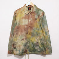 JAVARA「TIE DYE COACH JKT(BROWN+GREEN+YELLOW)」