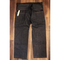 "JAVARA ""JV15"" (HEMP DENIM THAIPANTS GOLD STITCH)"