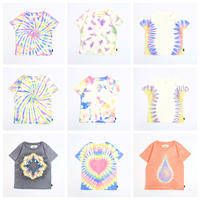 A HOPE HEMP × JAVARA「HEMP TIE DYE KID'S TEE」