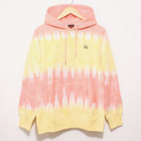 JAVARA「BORDER HOODIE(ORANGE+YELLOW)」