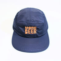 MORE BEER「CLASSIC LOGO MA-1 CAP(NAVY)」