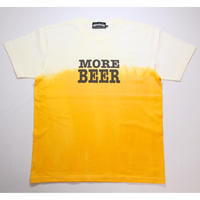 MORE BEER TYPE2 LOGO TEE(BEER COLOR)
