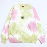 MORE BEER「LIMITED TIE DYE CLASSIC LOGO CREW#7」