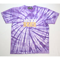 MORE BEER「BIG LOGO TEE(PURPLE RASEN)」