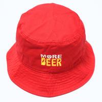 MORE BEER BUCKET HAT (RED)