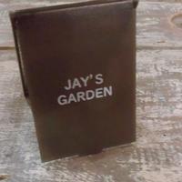 JAY'S GARDENロゴ入り コンパクトミラー