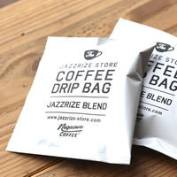 "JAZZRIZE STORE COFFEE DRIP BAG ""JAZZRIZE BLEND"" (Blend by NAGASAWA COFFEE)"