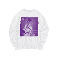 GOLDEN LADY LONG SLEEVE TEE [PURPLE]