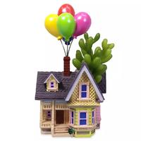 ピクサー『カールじいさんの空飛ぶ家』家型プランターの置物