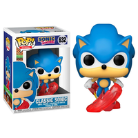 ファンコ ポップ 『ソニック・ザ・ヘッジホッグ』クラシック・ソニック  FUNKO POP!  Sonic the Hedgehog CLASSIC SONIC