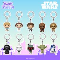 ファンコ ポップ ポケット キーチェーン 『スターウォーズ』  Funko POP! Star Wars Keychains