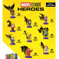 「マーベルスタジオ・ヒーローズ」 USマクドナルド ハッピーセット 9種セット MARVEL HEROES McDonald's Happy Meal Toy Set of 9