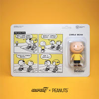 2019 コミコン限定 ファンコ  リ・アクション 『ピーナッツ』チャーリー・ブラウン Funko ReAction Peanuts  the Good Ol' Charlie Brown