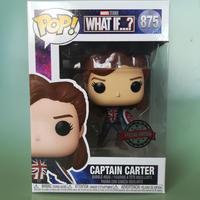 """ファンコ ポップ マーベル『ホワット・イフ...?』 キャプテン・カーター Funko POP! Marvel """"What If...?""""  Captain Carter"""