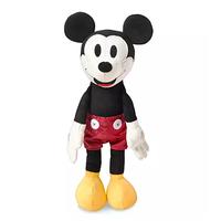 ミッキーマウス    ビンテージ風 ぬいぐるみ   Mickey Mouse Crafted Plush