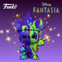 ファンコ ポップ アートシリーズ ディズニー『ファンタジア』80周年記念 魔法使いミッキー(ペイント)