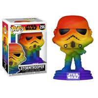 ファンコ  ポップ スターウォーズ ストームトルーパー【レインボー】  FUNKO POP!Star Wars: Pride 2021 - Stormtrooper (Rainbow)