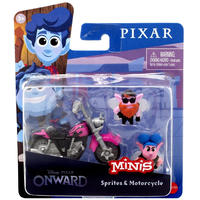 ピクサー『2分の1の魔法』 マテル社 ミニズ     Disney / Pixar Onward Minis Sprites & Motorcycle Figure 2-Pack