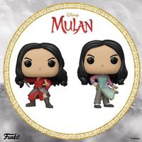 ファンコ ポップ ディズニー映画『ムーラン』2体セット   FUNKO POP! Mulan set of 2