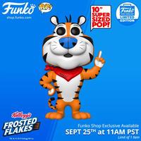 """ファンコ  ポップ   Funko POP!  ケロッグ トニー・ザ・タイガー 10インチ   Funko Pop! Kellogg's 10""""  Tony The Tiger"""