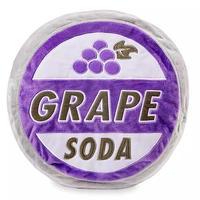 「カールじいさんの空飛ぶ家」 Grape Soda の王冠型 クッション