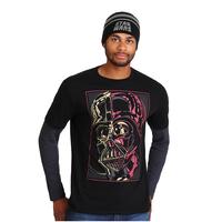 『スターウォーズ』 ダース・ベーダー 長袖Tシャツ&ニット帽セット