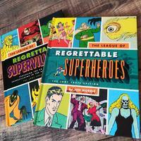 """【洋書】残念なヒーロー&ヴィラン2冊セット""""Regrettable Superheroes"""" """"Regrettable Supervillains"""""""