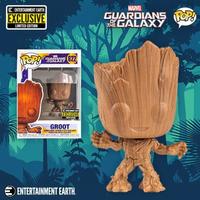 ファンコ  ポップ  マーベル ガーディアンズ・オブ・ギャラクシー グルート(木目調) Funko POP! Marvel  GROOT  Wood Deco