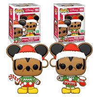 ファンコ ポップ ディズニー ジンジャーブレッド ミッキー&ミニーマウス Funko Pop! Disney Gingerbread Mickey & Minnie