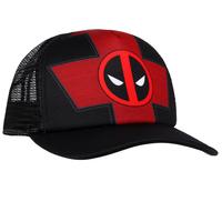 マーベル『デッドプール』 メッシュキャップ   Marvel Deadpool Trucker Hat