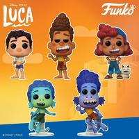 ファンコ ポップ ピクサー『あの夏のルカ』5種セット    Funko POP! Disney / Pixar Luca  set of 5