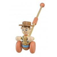 トイストーリー  Orange Tree Toys 木製 プッシュアロング トイ【ウッディ】
