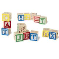 「トイストーリー」でお馴染み 木製 ABCブロック  50個セット