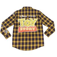 トイストーリー  Cakeworthy TOY STORY ロゴ フランネル・シャツ