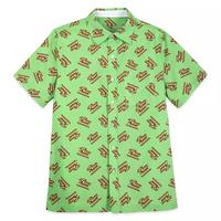 トイストーリー「ピザプラネット」 ウーブン シャツ Pizza Planet Logo Woven Shirt for Men – Toy Story