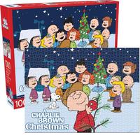 ピーナッツ チャーリーブラウン クリスマス 1000ピース ジグソーパズル