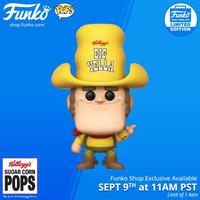 ファンコ ポップ ケロッグ『ビッグ・イエラ』 Funko POP! Kellogg's Big Yella