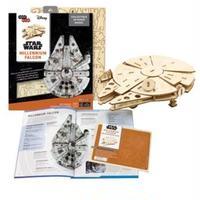 【送料込み】スターウォーズ 木製組立てキット ミレニアム ファルコン  3D Wood Models  Millenium Falcon