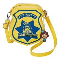 トイストーリー4 ギグル・マクディンプルズの  ショルダーバッグ Giggle McDimples Pet Patrol Crossbody Bag