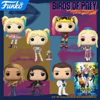 ファンコ ポップ FUNKO POP!  映画『ハーレイ・クインの華麗なる覚醒 BIRDS OF PREY』7種セット