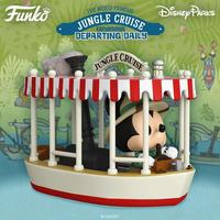ファンコ ポップ  「ジャングル・クルーズ」with ミッキーマウス Funko Pop! Rides: Jungle Cruise - Skipper Mickey with Boat
