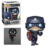 ファンコ ポップ GAMERVERSE『アベンジャーズ 』キャプテン・アメリカ(グロー版) Funko Pop!CAPTAIN AMERICA 【GITD】 (Avengers Gamerverse)