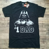 【父の日ギフトに!】『スターウォーズ』  ダースベイダー #1 DAD  Tシャツ