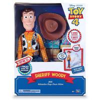 トイストーリー4 インタラクティブ・ウッディ Toy Story 4 Sheriff Woody, with Interactive Drop-Down Action