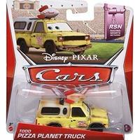 ディズニー・ピクサー カーズ  2014 マテル キャラクターカー Todd Pizza Planet Truck