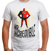 ミスター・インクレディブル  【WHEN DANGER CALLS】  メンズTシャツ