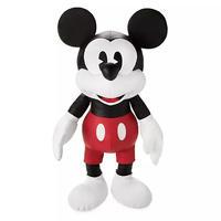 ミッキーマウス  合皮製ぬいぐるみ ラージ Mickey Mouse Simulated Leather Plush