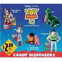1999年 トイストーリー2 アメリカ マクドナルド キャンディ・ディスペンサー6種 セット
