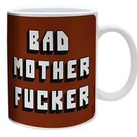 映画『パルプ・フィクション』BAD MOTHER FUCKER セラミック製  マグカップ
